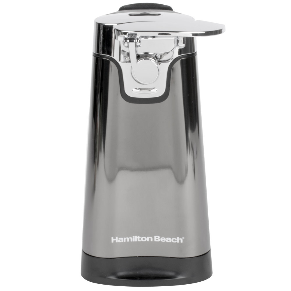 hamilton beach 76776 black ice metal collection electric can opener