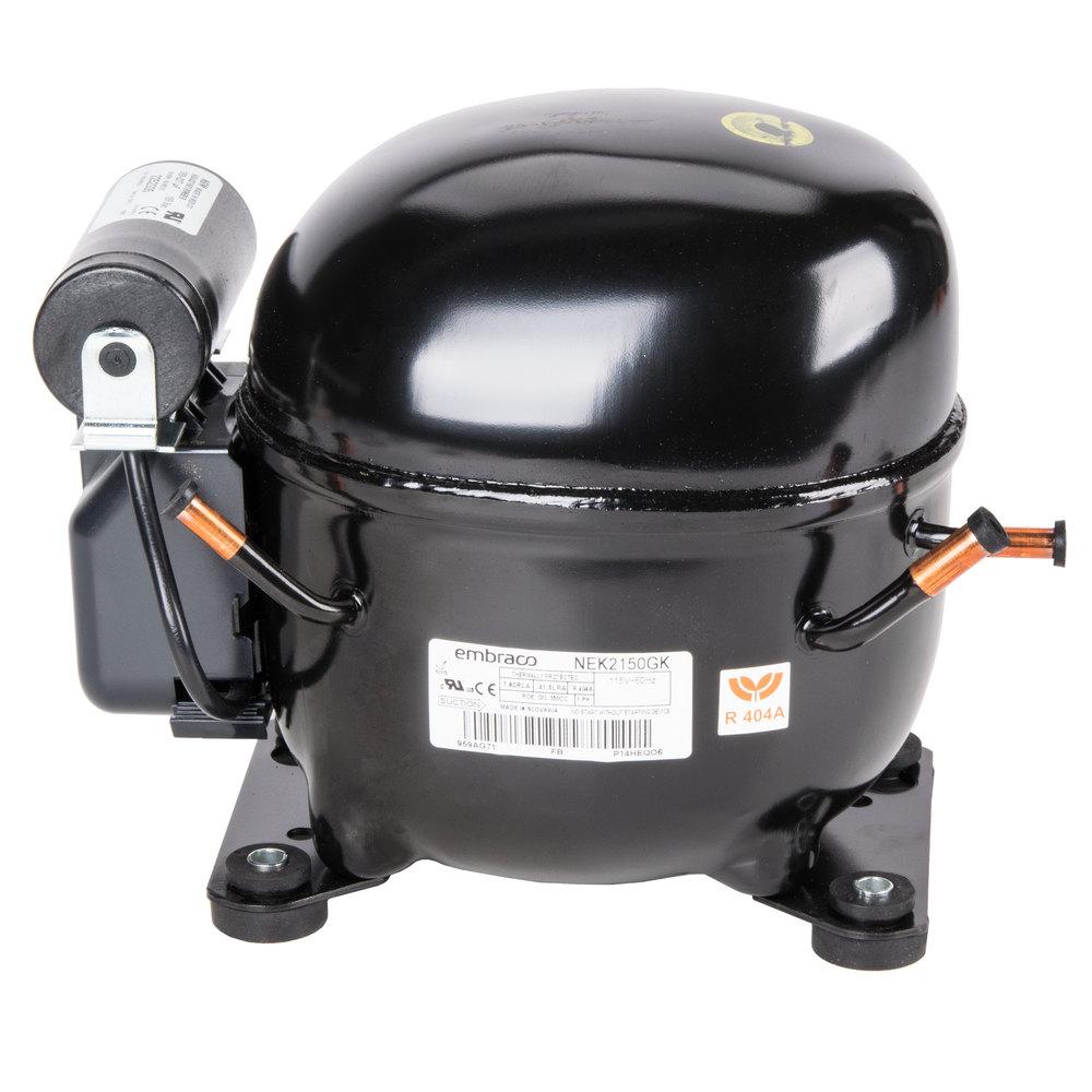 refrigerator compressor. avantco 17811460 1/2 hp compressor - 115v, refrigerator