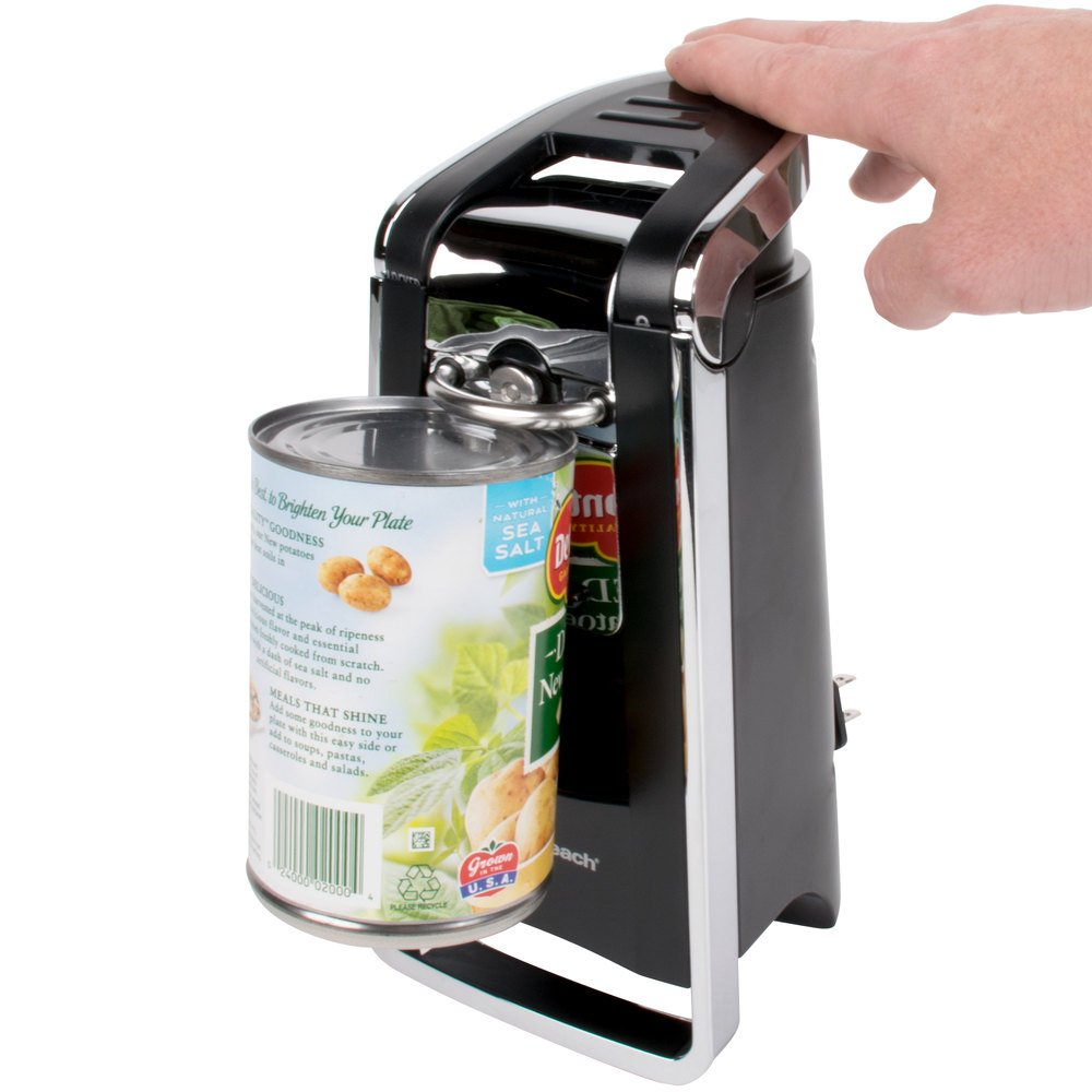 Electric Can Openers ~ Hamilton beach z smoothtouch electric can opener