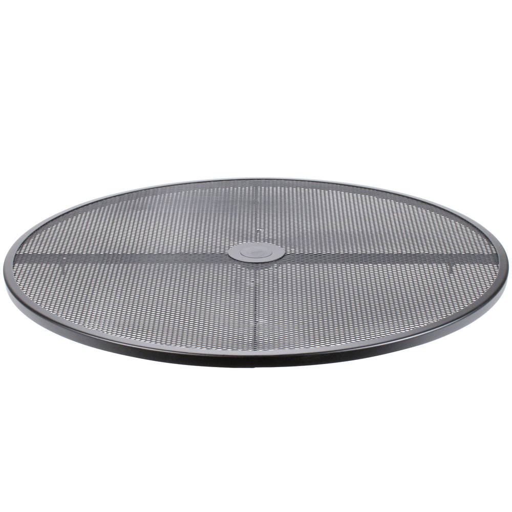 ... Round Black Steel Outdoor / Indoor Tabletop. Main Picture · Image  Preview ...