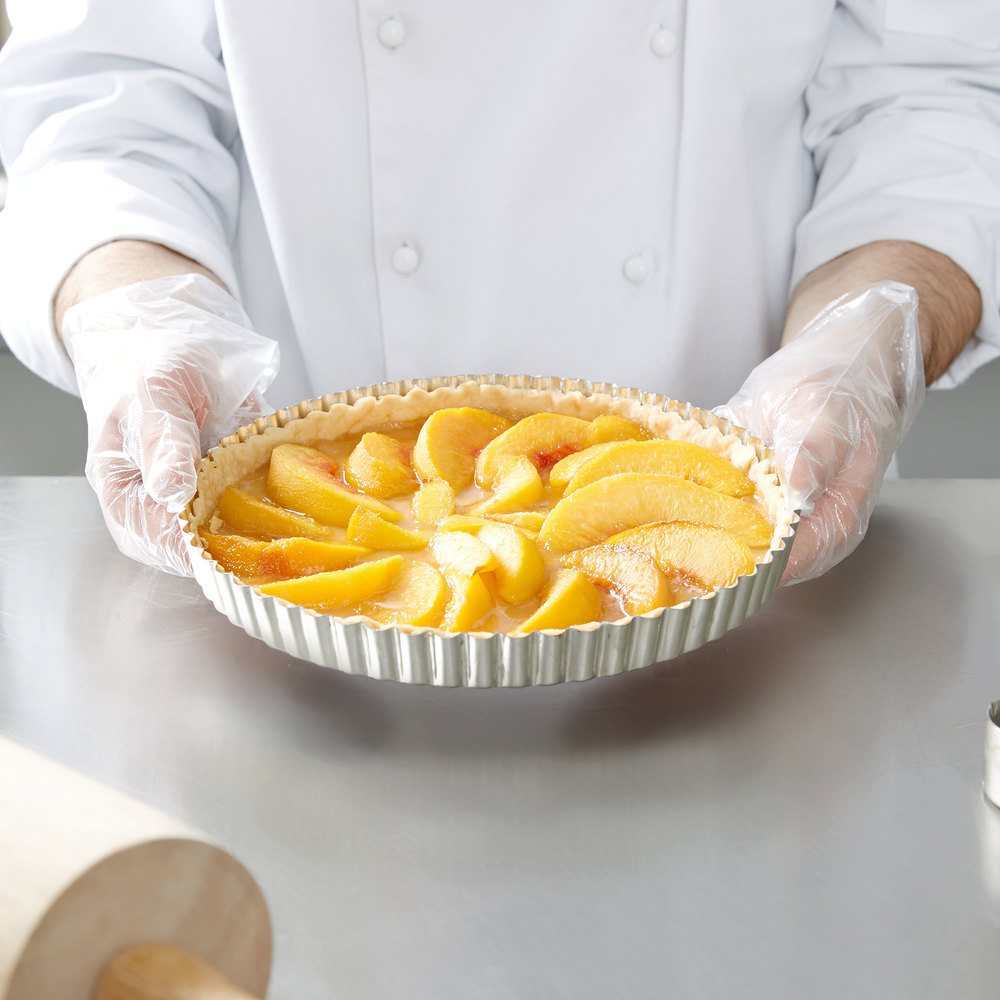 Apologise, but, Deep tart pan with removable bottom simply