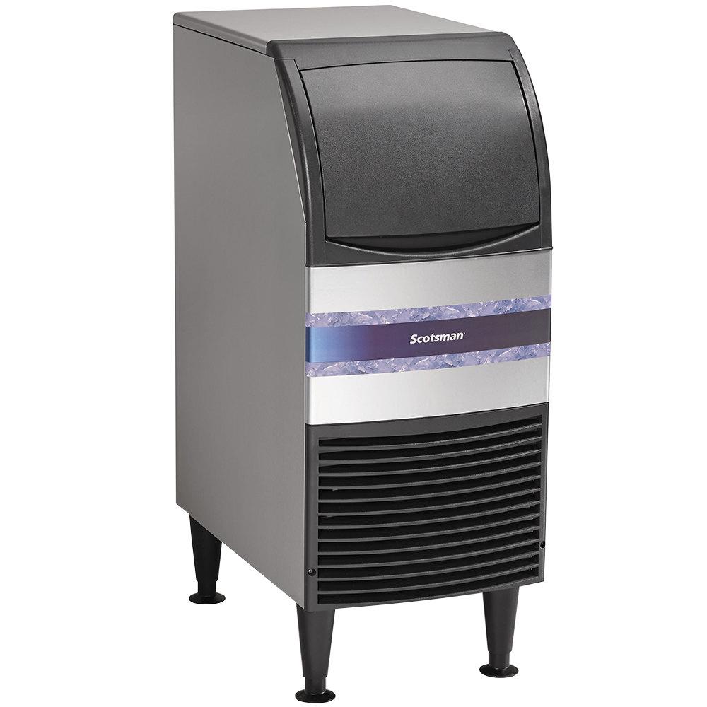 scotsman cu0715ma 1a 15 air cooled undercounter medium