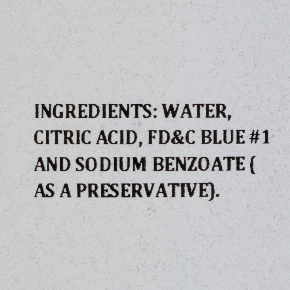 Blue Food Coloring - 1 Gallon