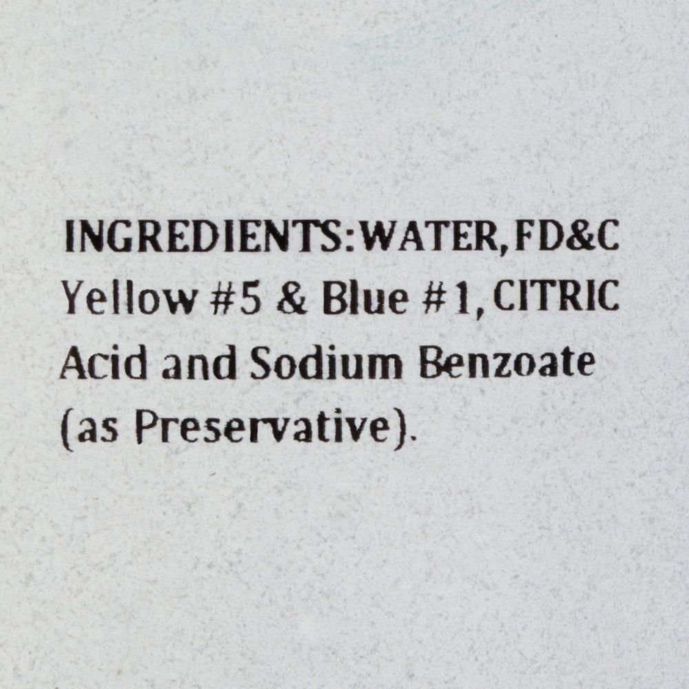 Green Food Coloring - 1 Gallon