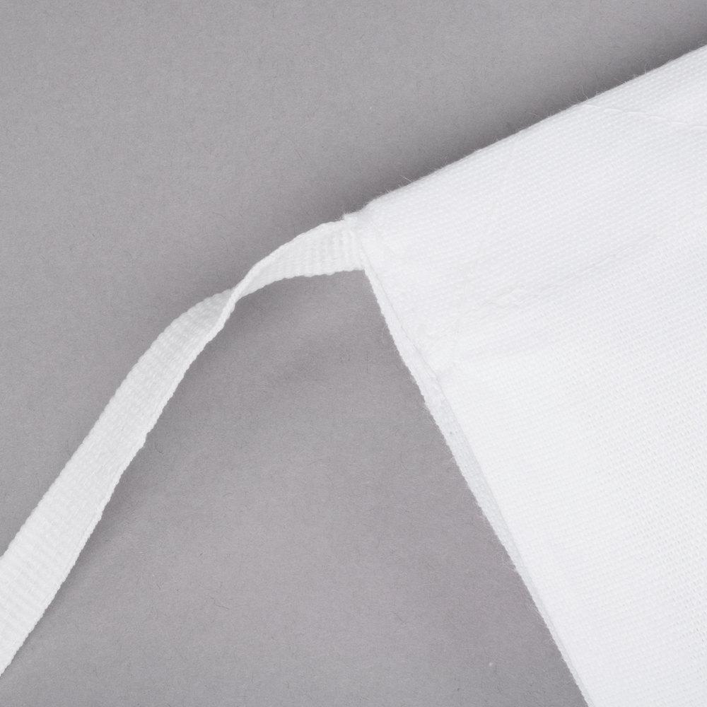 White half apron -  Image Preview