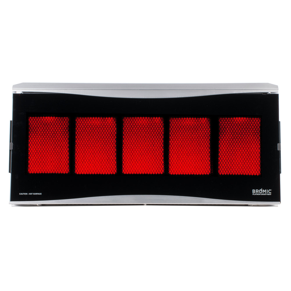 Natural Gas Bromic Heating BH0110003 Platinum Smart Heat 500 Series Natural  Gas Outdoor Patio Heater   39,800 ...