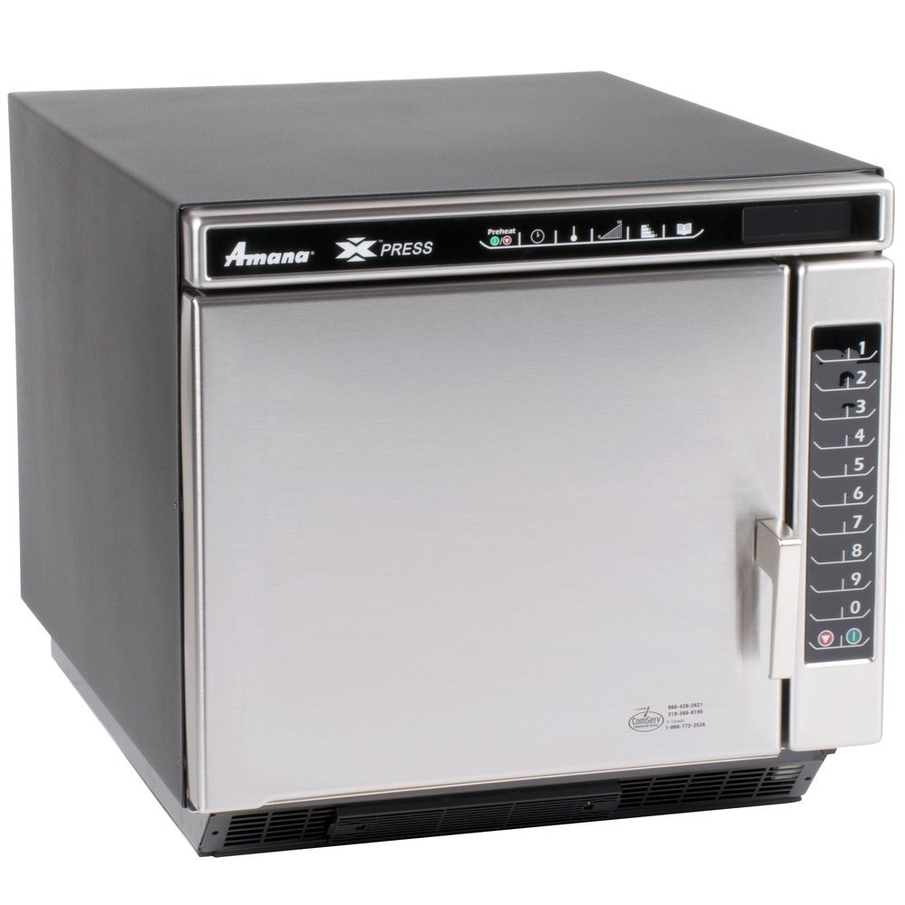 Amana Xpress ACE19N Jetwave High-Speed Accelerated Cooking Countertop ...