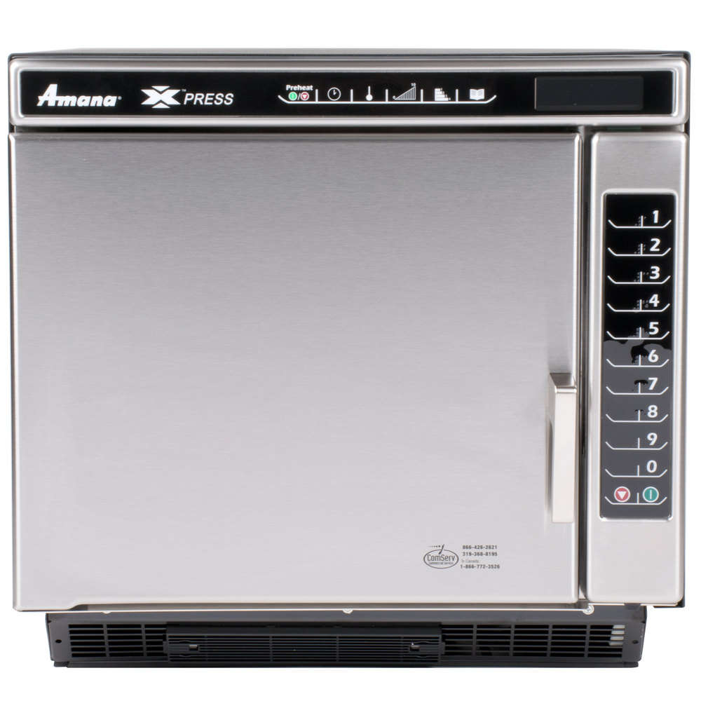 Amana Xpress Ace14n Jetwave High Sd Accelerated Cooking Countertop Oven Main Picture