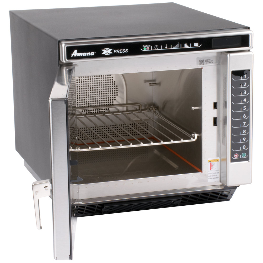 Amana Countertop Stove : Amana Xpress ACE14N Jetwave High-Speed Accelerated Cooking Countertop ...