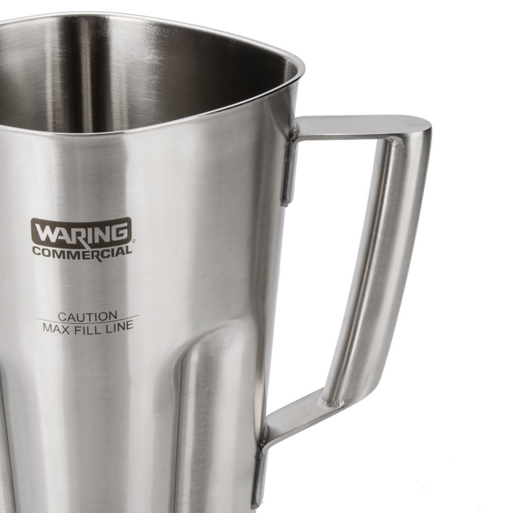 Stainless Steel Blender ~ Waring  oz stainless steel blender jar with