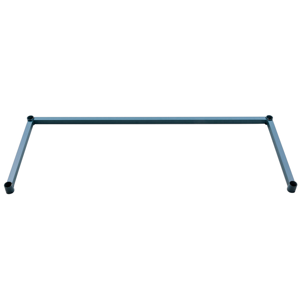 Regency Three-Sided Green Epoxy 18 inch x 48 inch Frame for Wire Shelving