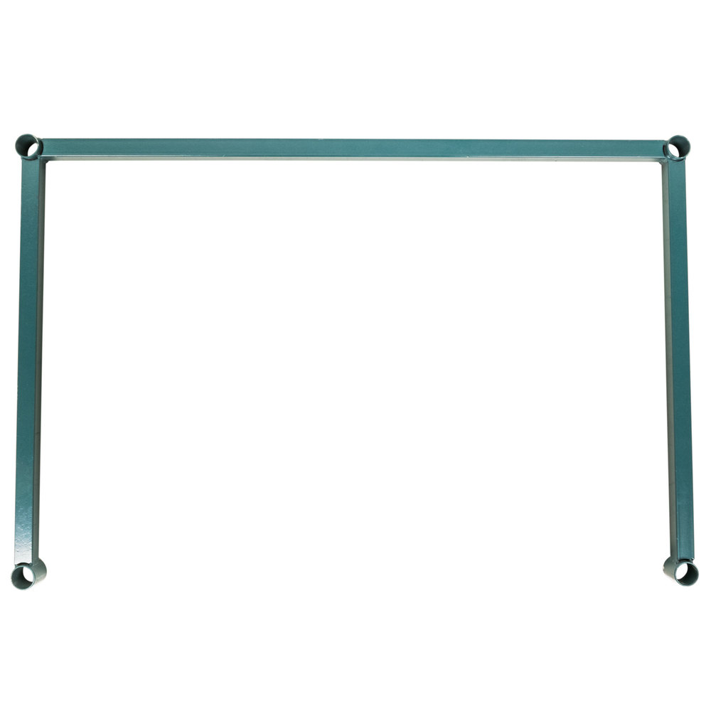 Regency three sided green epoxy 24 x 36 frame for wire shelving image preview jeuxipadfo Gallery