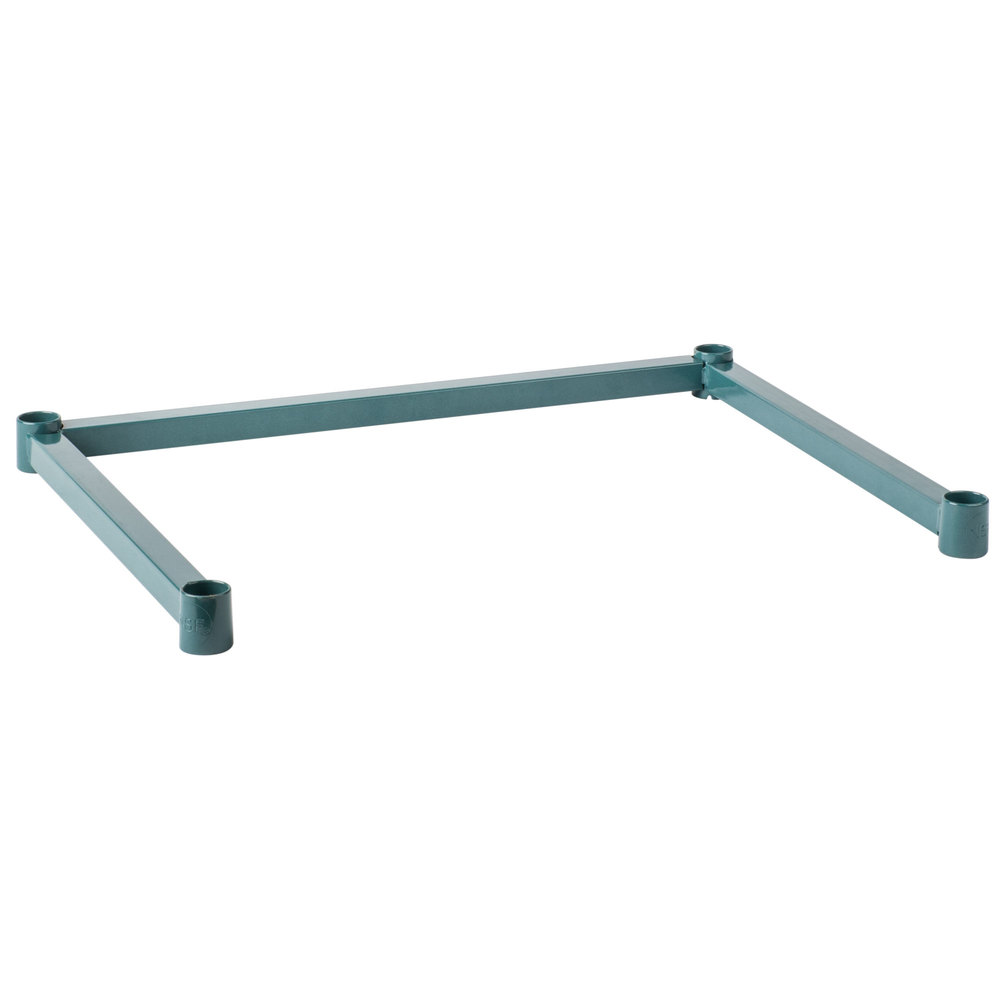 Regency Three-Sided Green Epoxy 18 inch x 24 inch Frame for Wire Shelving