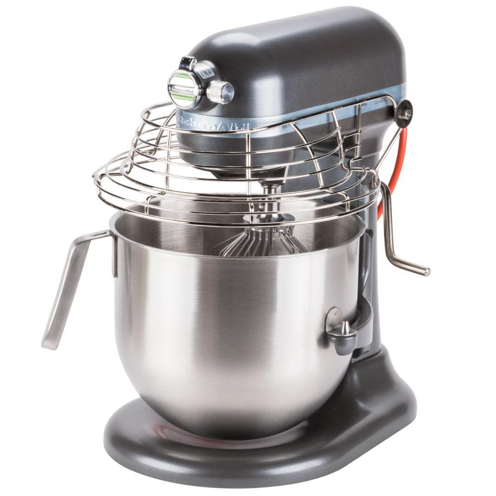 Pewter Kitchenaid 8 Qt Commercial Mixer Amp Bowl Guard