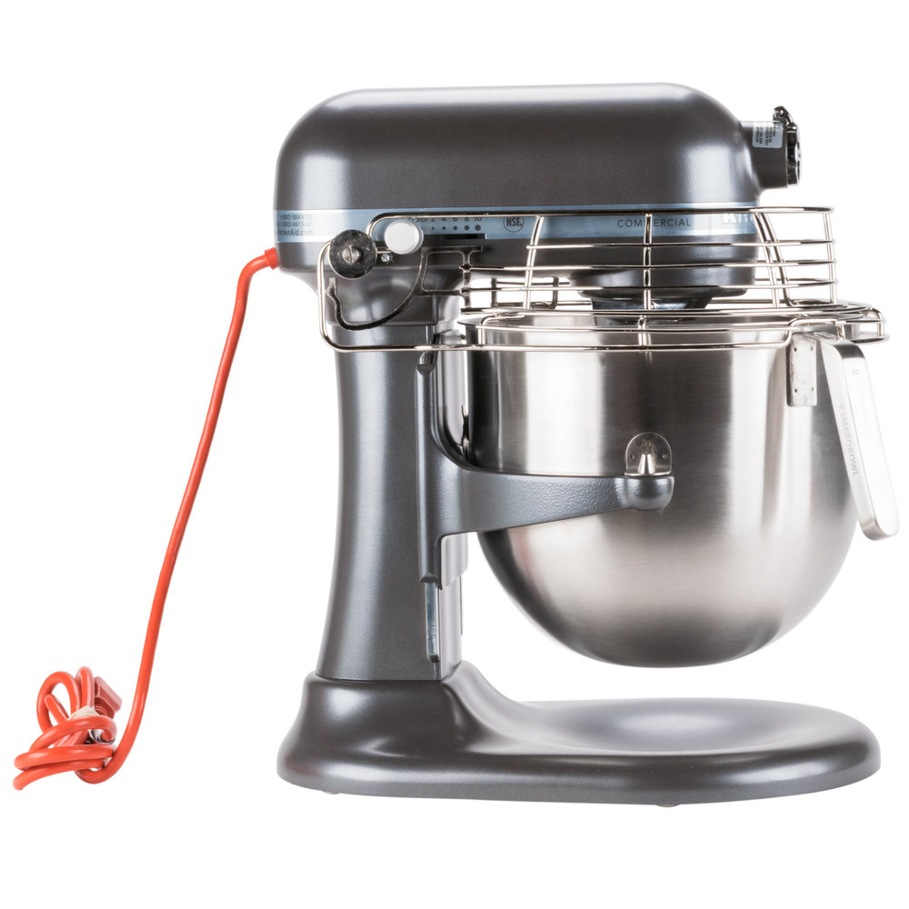 8 Quart Stand Mixer with Bowl Guard and Bowl Lift KITCHEN AID Dark Pewter