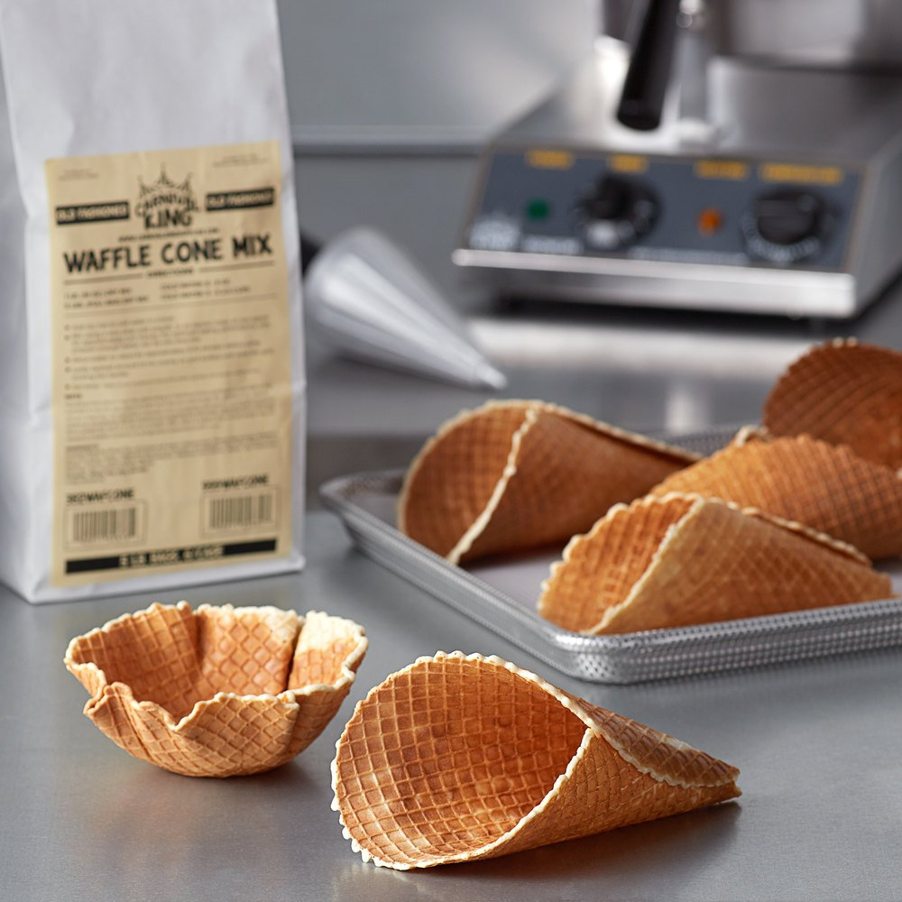 Carnival King Old Fashioned Waffle Cone Mix 5 lb. Bag