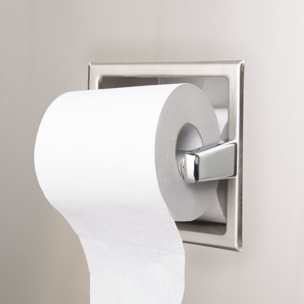 Stainless Steel Toilet Roll Storage