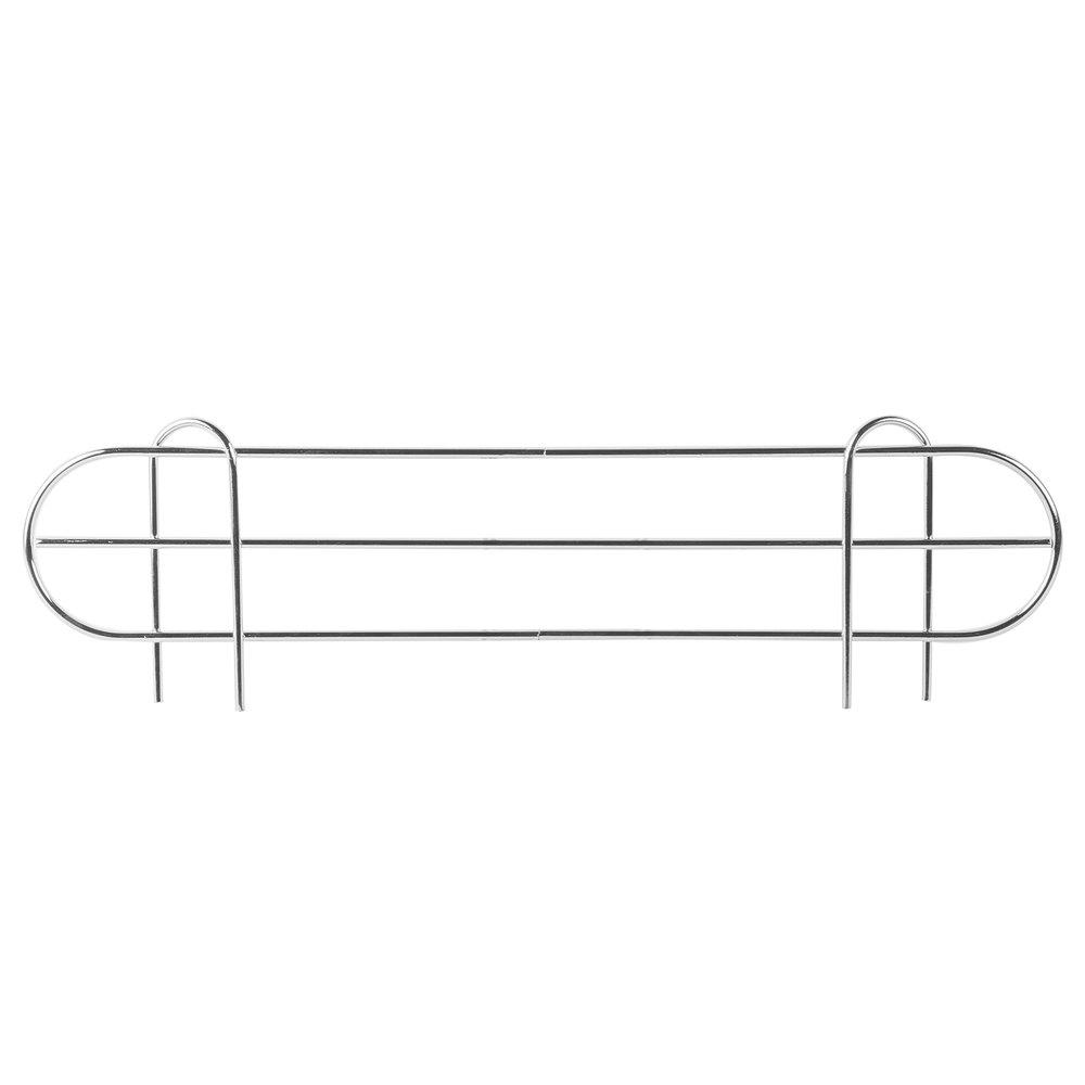 Regency 22 inch Chrome Wire Shelf Ledge for Wire Shelving - 22 inch x 4 inch