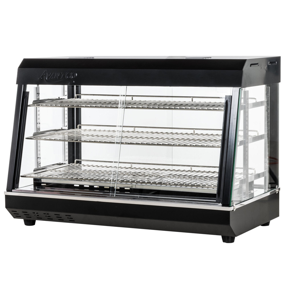 Avantco Hdc 36 36 Quot Self Service 3 Shelf Countertop Heated