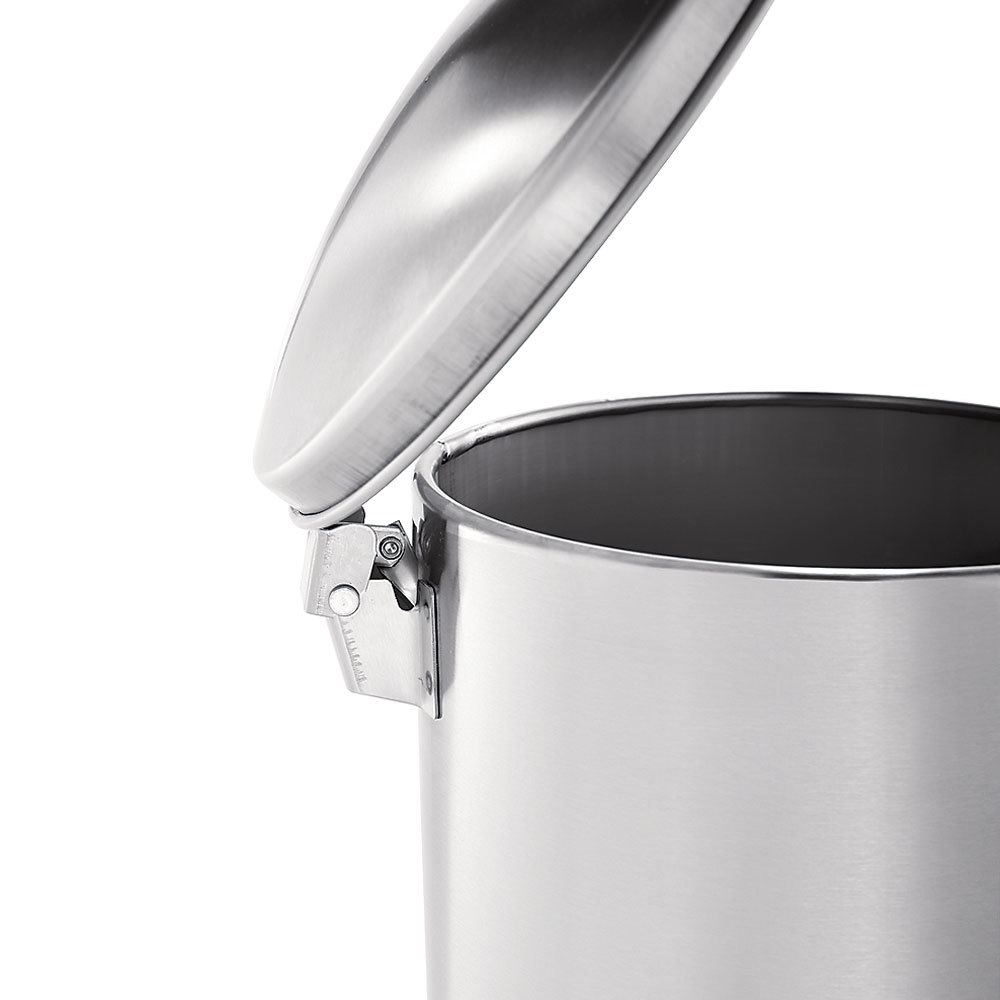Rubbermaid fgst sspl the defenders stainless steel round