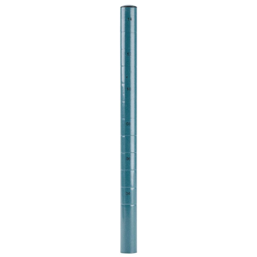 Regency 14 inch NSF Green Epoxy Mobile Shelving Post