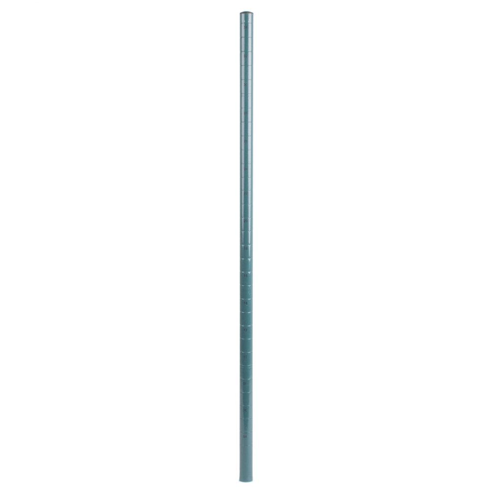 Regency 34 inch NSF Green Epoxy Mobile Shelving Post