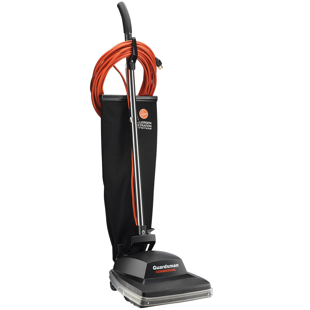 hoover c1431 010 12 quot guardsman commercial bagged vacuum
