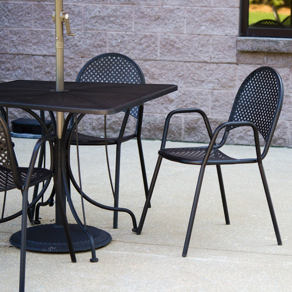 Use Furniture, Shading, And Lighting To Capture The Ambiance Of Your Restaurant  Patio Design. Do You Want To Use Rustic Wooden Picnic Tables And Benches,  ...