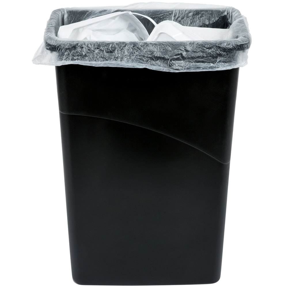 20 30 gallon 10 micron 30 x 37 olympian high density can liner trash bag 500 case. Black Bedroom Furniture Sets. Home Design Ideas