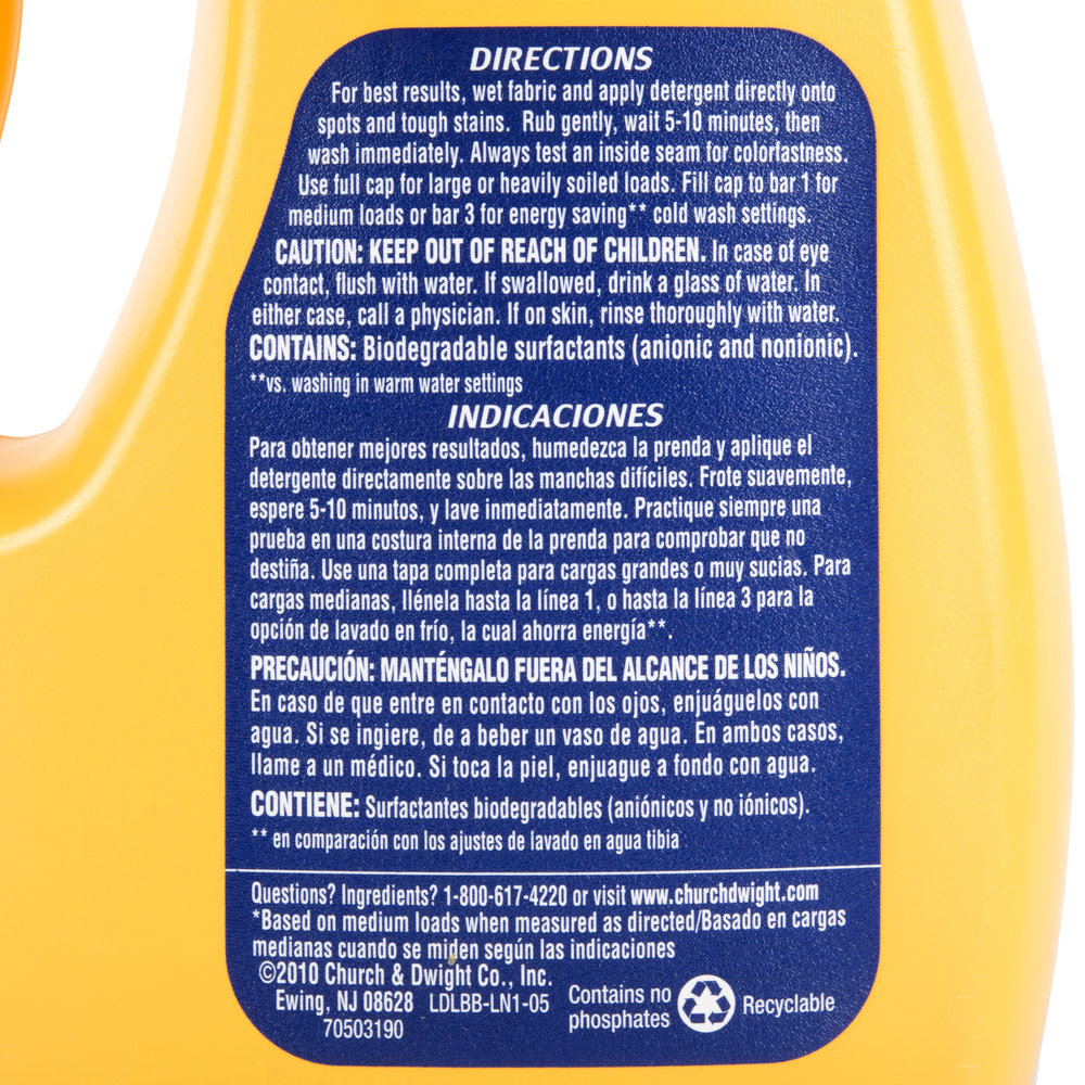 Is arm and hammer powder laundry detergent he - Arm Hammer 50 Oz 2x He Perfume Dye Free Liquid Laundry Detergent Main Picture Image Preview Image Preview