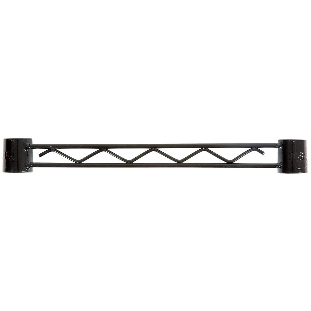 Regency Black Epoxy Hanger Rail - 14 inch