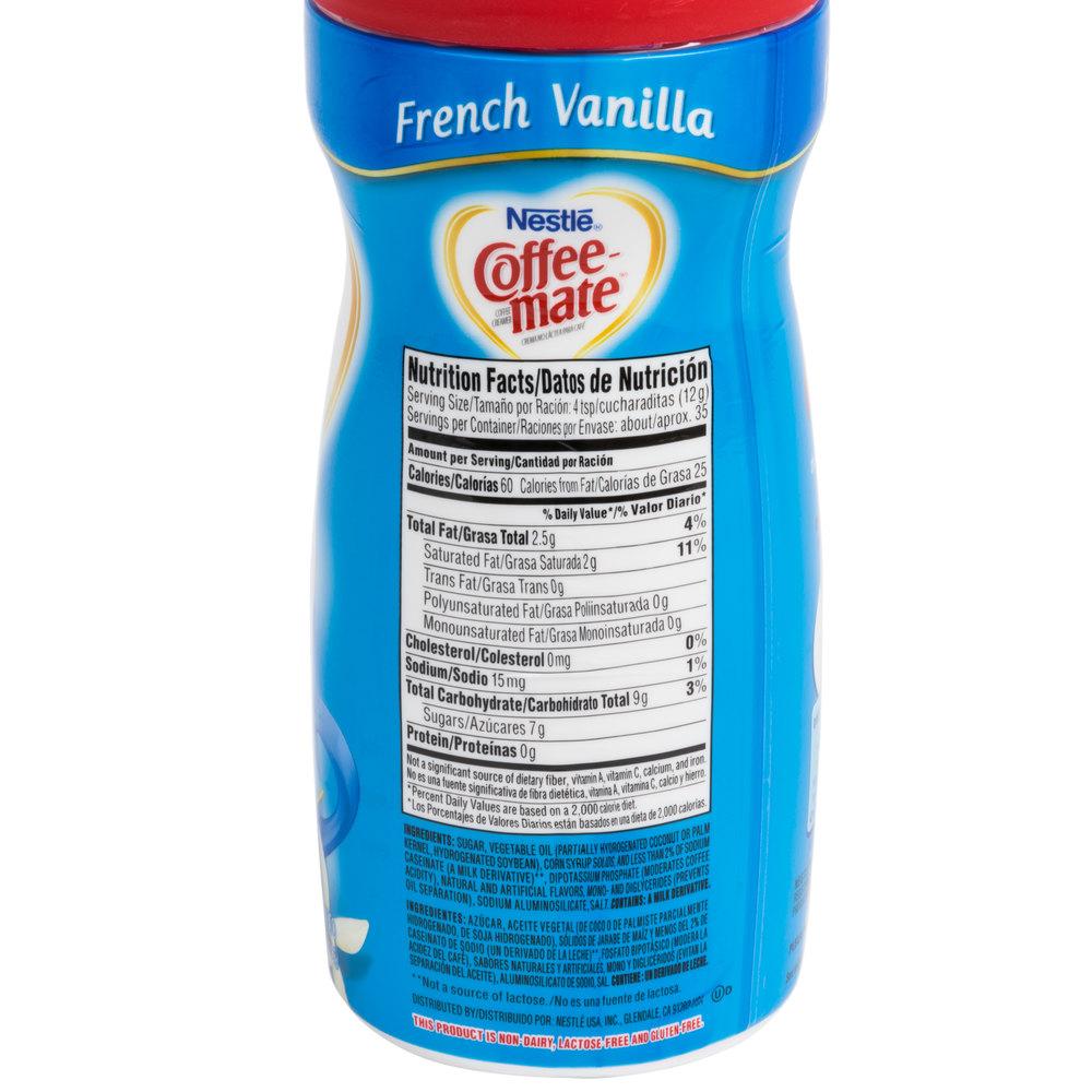 Nestle Coffee-Mate French Vanilla Coffee Creamer Shaker ...