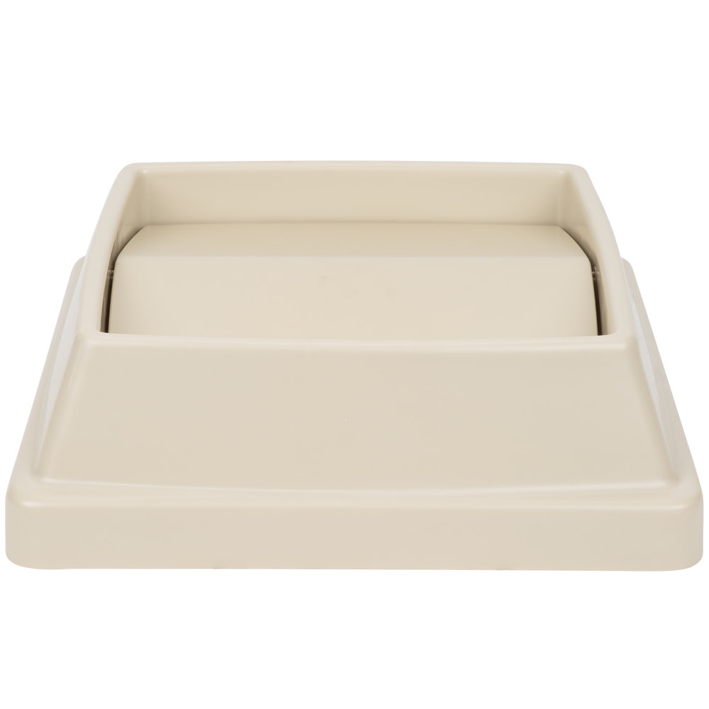 Continental T1700be 16 Quot Beige Square Tip Top Lid For 25
