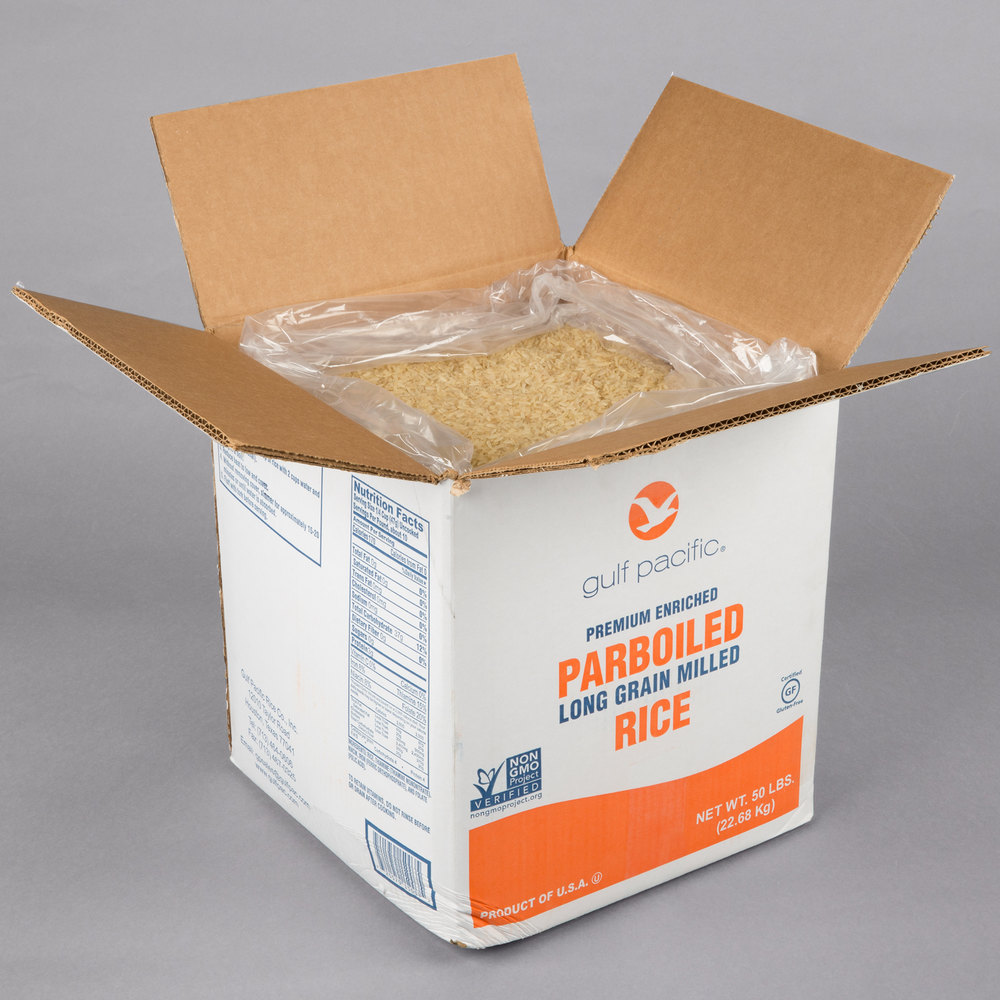 Gulf Pacific Parboiled White Rice