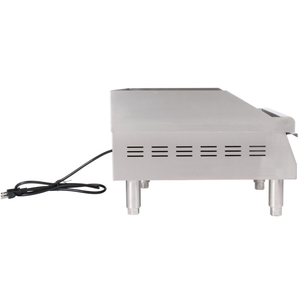 product electric countertop buffalo countertops griddle