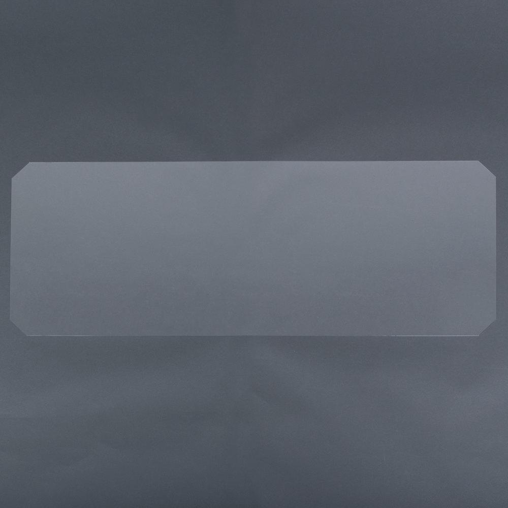 Regency Shelving Clear PVC Shelf Mat Overlay - 24 inch x 48 inch