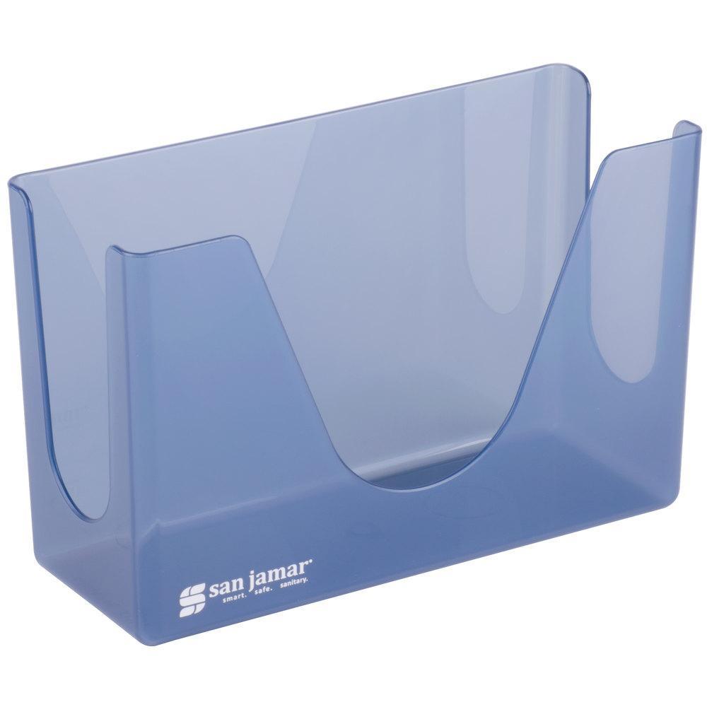 Countertop Paper Towel Dispenser : San Jamar T1720TBL Countertop Towel Dispenser - Arctic Blue
