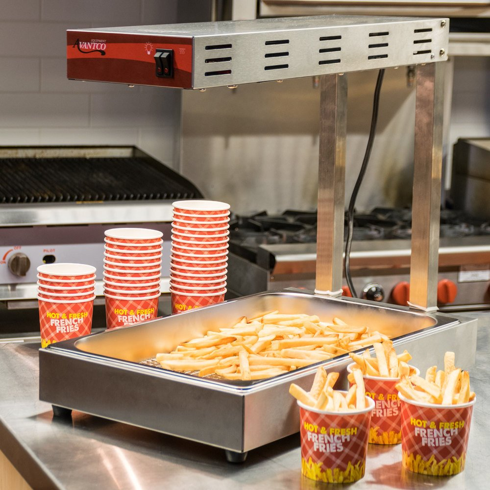 Avantco Ffds 1 Freestanding Infrared French Fry Warmer