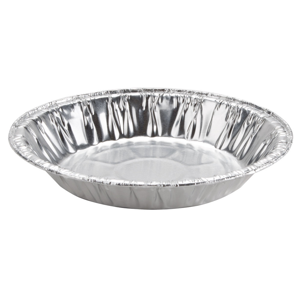 Baker\u0027s Mark 6 inch x 15/16 inch Medium Depth Foil Pie Pan - 100 ...  sc 1 st  WebstaurantStore & Aluminum Pie Pans | Disposable Pie Pans | WebstaurantStore