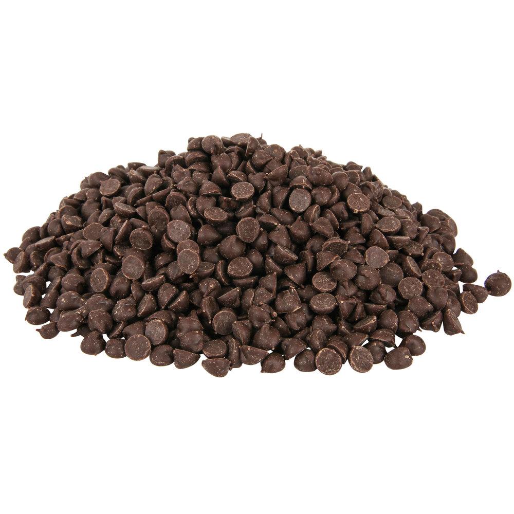 HERSHEY'S® Mini Semi-Sweet Chocolate Baking Chips - 25 lb.