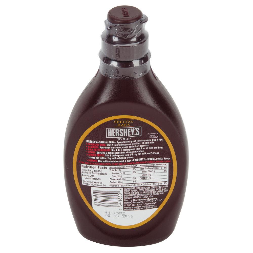 HERSHEY'S® 22 oz. Special Dark Chocolate Syrup