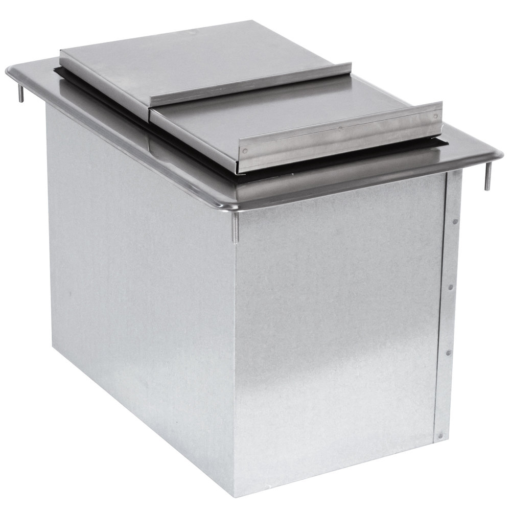 Advance Tabco D 12 IBL Stainless Steel Drop In Ice Bin   12