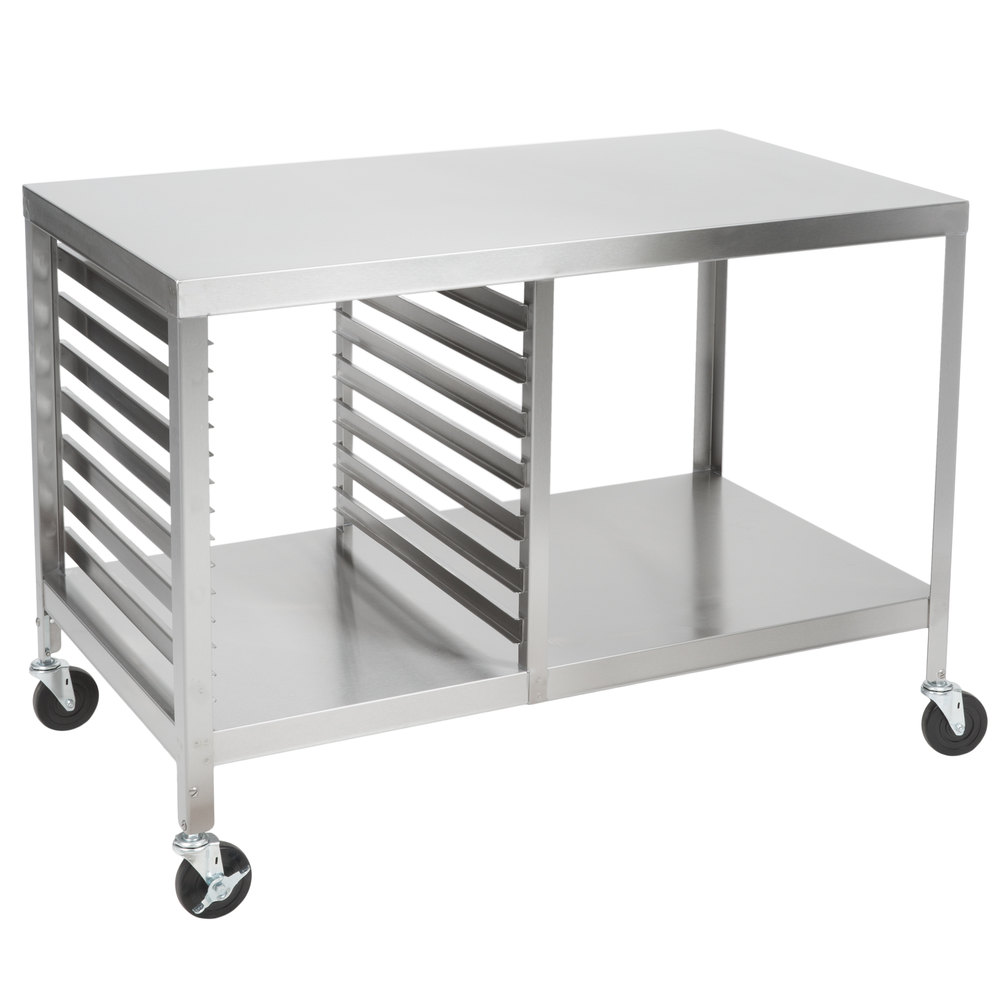 Lakeside 130 Stainless Steel Work Table With Sheet Pan