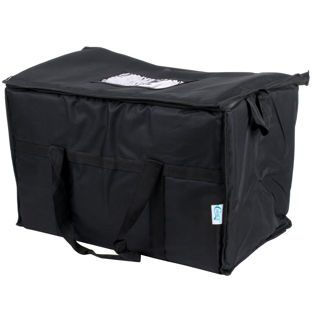 Choice Insulated Cooler Bag Soft Cooler Black Nylon