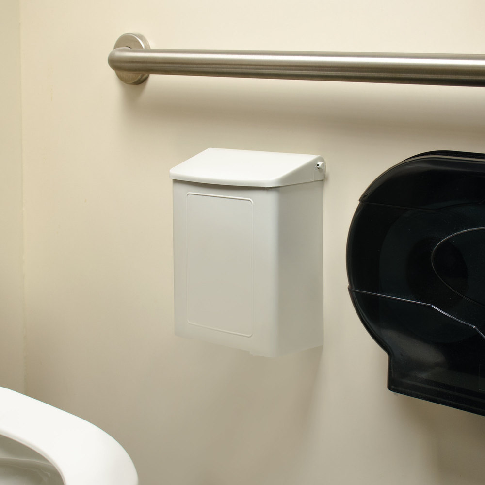 Rochester Midland Rmc 25125200 White Plastic Wall Mount