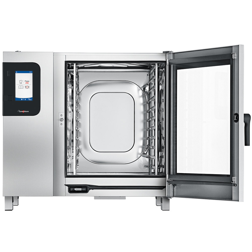 convotherm full size boilerless electric combi oven with easytouch controls 208v. Black Bedroom Furniture Sets. Home Design Ideas