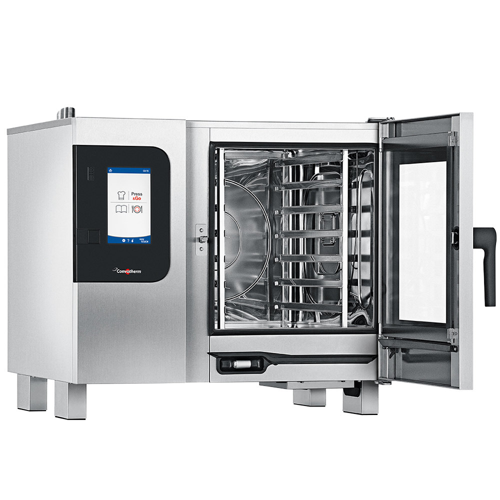convotherm half size boilerless electric combi oven with easytouch controls 208v 3. Black Bedroom Furniture Sets. Home Design Ideas