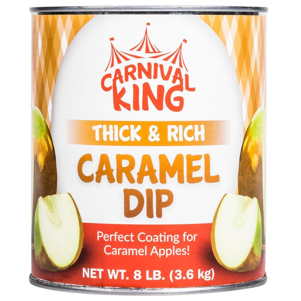 Carnival King Caramel Dip - #10 Can