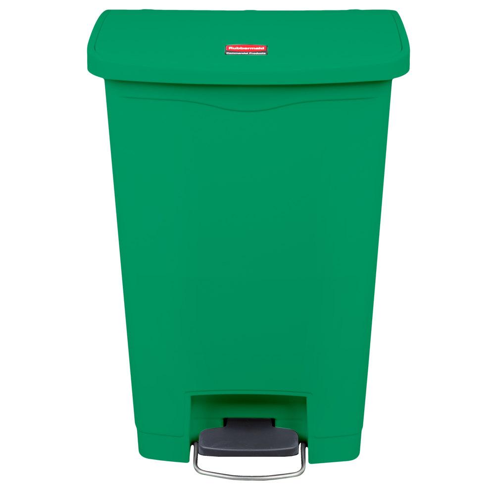 Slim Trash Cans | Wall Hugger Trash Cans | Narrow Trash cans