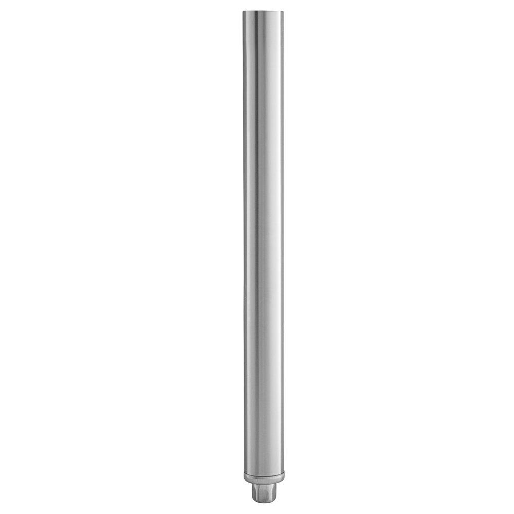Regency 18 1/2 inch Stainless Steel Leg for Sinks